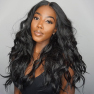 20inch Auction Body Wave Lace Wig Lace Front Human Hair Wigs